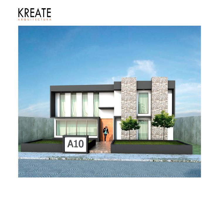 Vivienda Cielo.:  de estilo  por KREATE Arquitectura