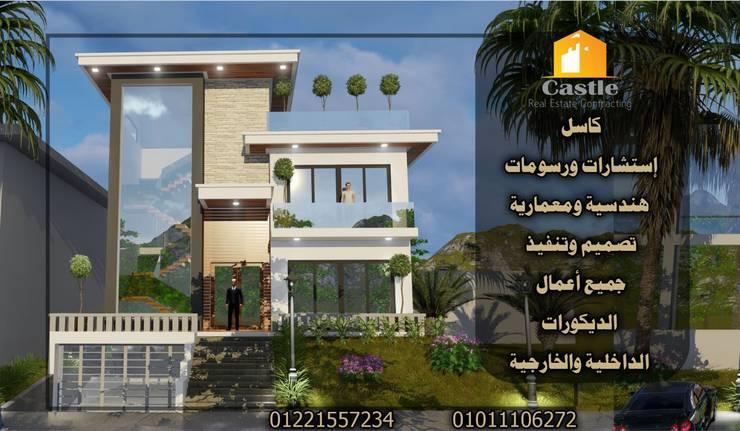 إستلم شقتك بأعلي تشطيب وديكور أنت تستحقه :  تصميم مساحات داخلية تنفيذ كاسل للإستشارات الهندسية وأعمال الديكور في القاهرة