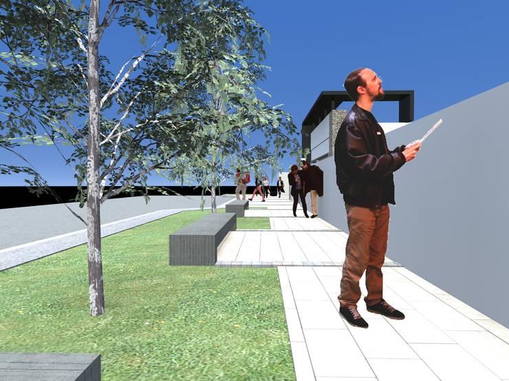 Tratamiento entorno urbano :  de estilo  por Arquitecto Pablo Briguglio,Moderno