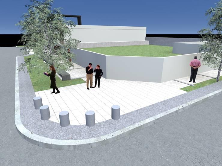 Tratamiento entorno urbano :  de estilo  por Arquitecto Pablo Briguglio