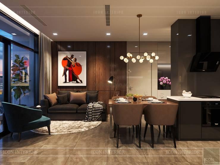 Salas de estar  por ICON INTERIOR