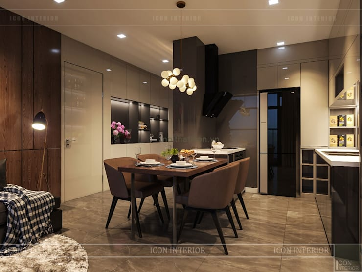 Dining room by ICON INTERIOR,