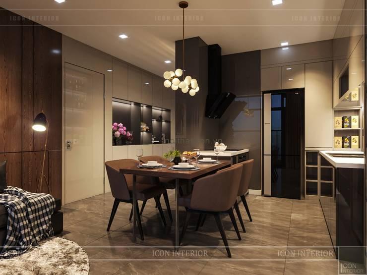 Salas de jantar  por ICON INTERIOR