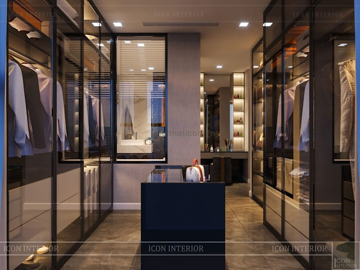 Dressing room by ICON INTERIOR,