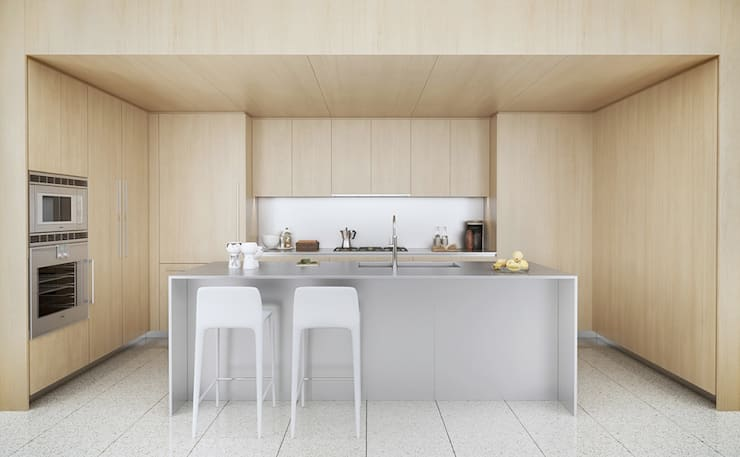 Kitchen units by Công ty Thiết Kế Xây Dựng Song Phát,