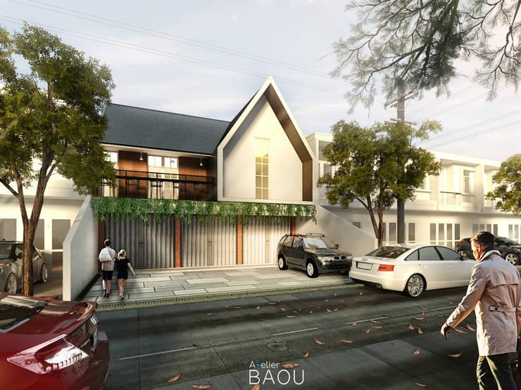 CWD House:  Ruang Komersial by Atelier BAOU+