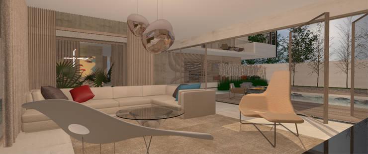 Chalets de estilo  por CB Luxus Inmobilien, Minimalista Concreto reforzado