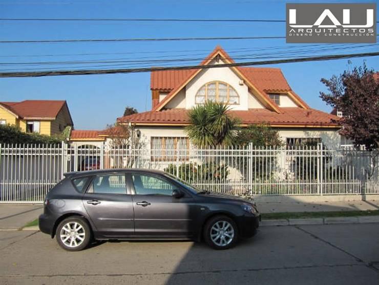 Ampliación Casa Celís: Casas de estilo  por Lau Arquitectos