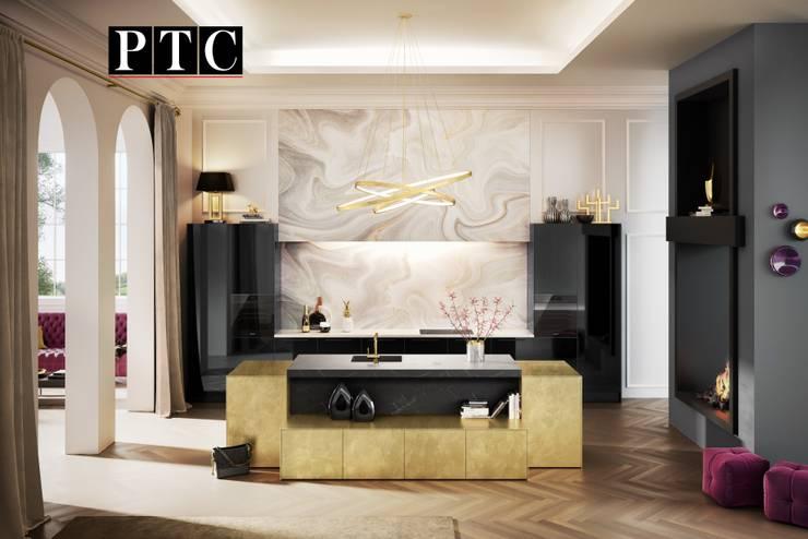 Kitchen by PTC Kitchens , Modern