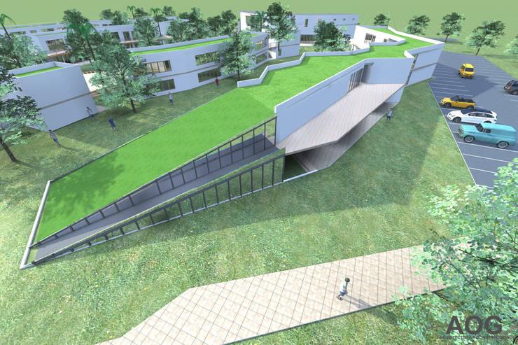 COLEGIO AZAPA VALLEY SCHOOL-ARICA: Parcelas de agrado de estilo  por AOG