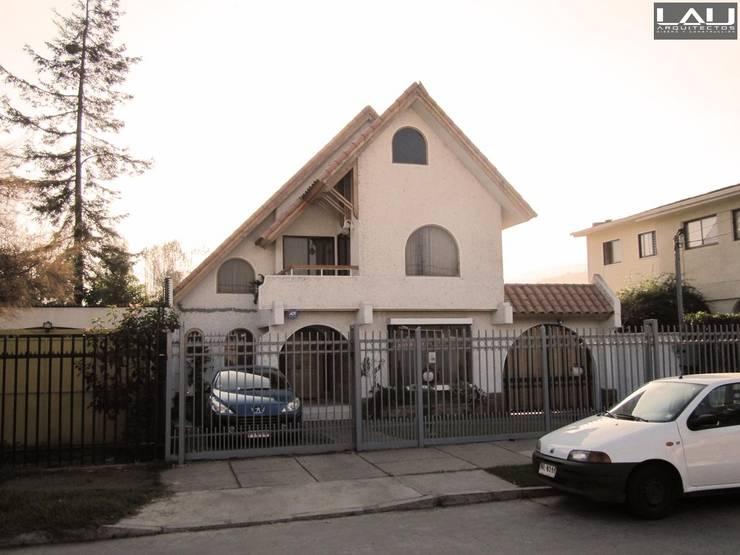 Casa Elgueta: Casas de estilo  por Lau Arquitectos