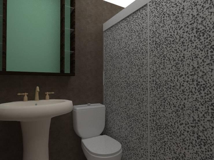 baño: Baños de estilo  por Constru-Acción