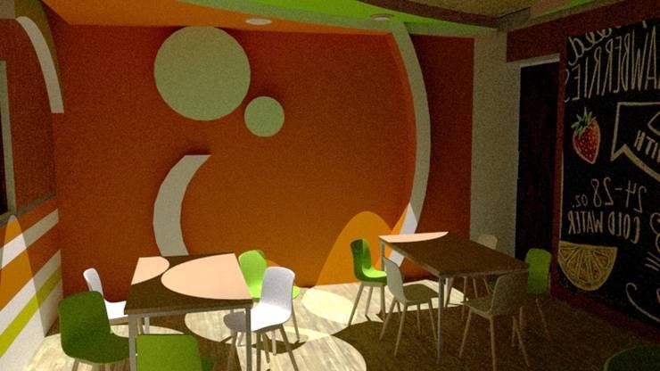 Escuela : Comedores de estilo  por Fire Design AR