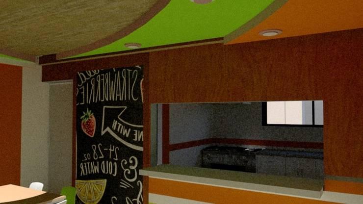 Escuela : Armarios de cocinas de estilo  por Fire Design AR
