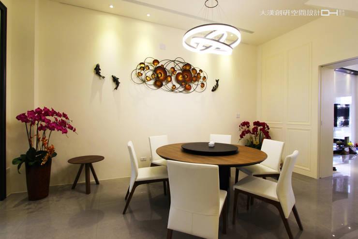 摩登時尚:  餐廳 by 大漢創研室內裝修設計有限公司