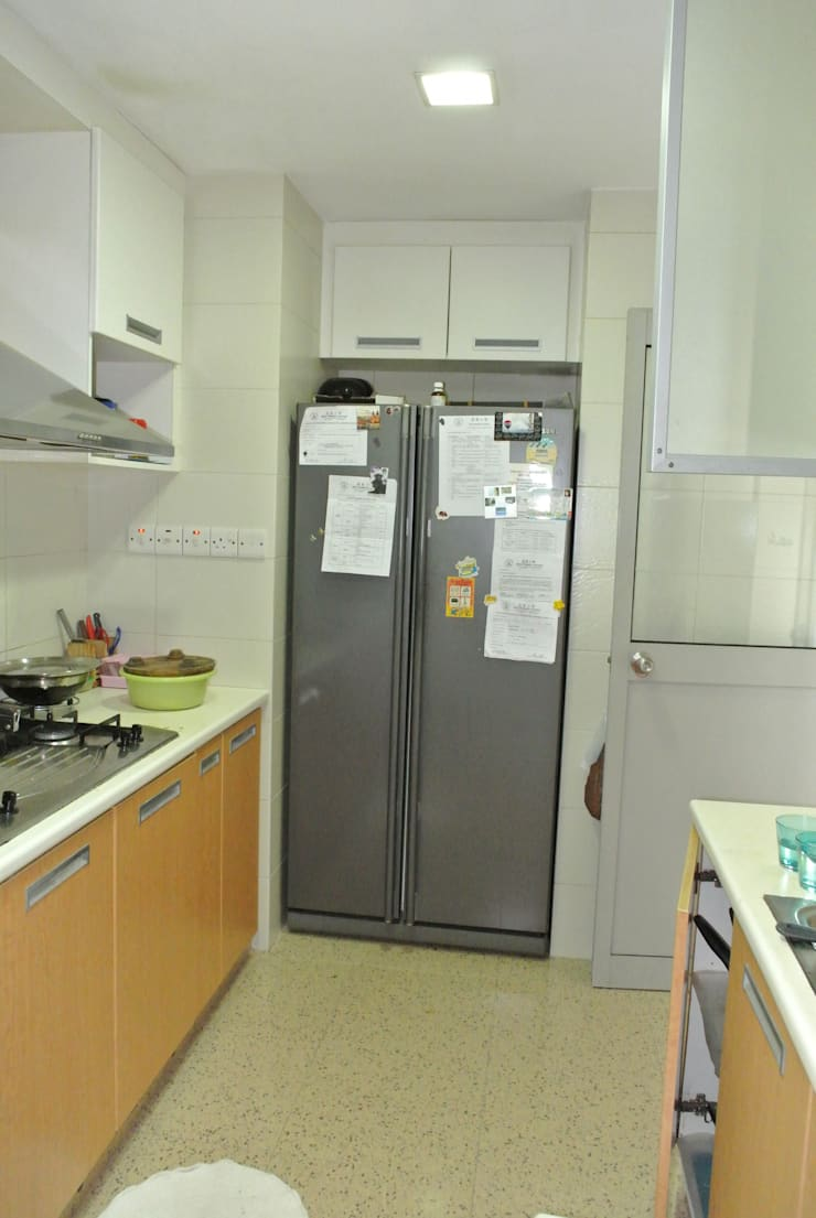 Before renovation of kitchen:  Kitchen by FINE ART LIVING PTE LTD,Modern