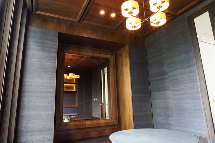 Projekty,  Salon zaprojektowane przez ARF interior