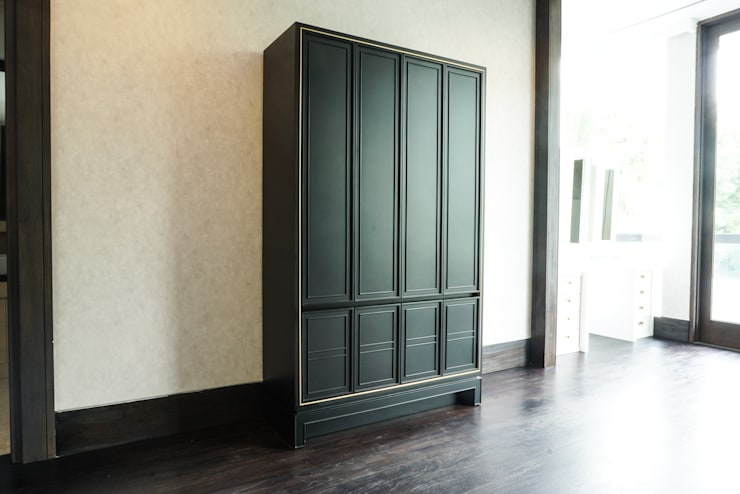 Projekty,  Garderoba zaprojektowane przez ARF interior