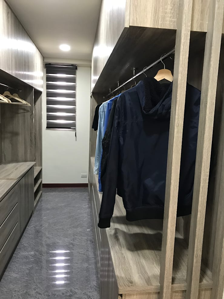 Dressing room by 寶樹堂營造工程