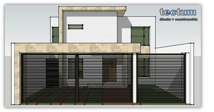 Proceso de Construcción:  de estilo  por TECTUM Diseño & Construccion