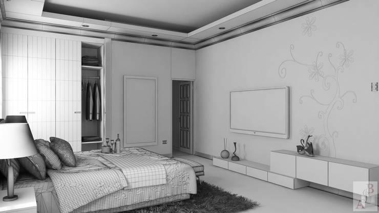 Remodelación Habitación Residencial: Habitaciones de estilo  por A.BORNACELLI, Moderno