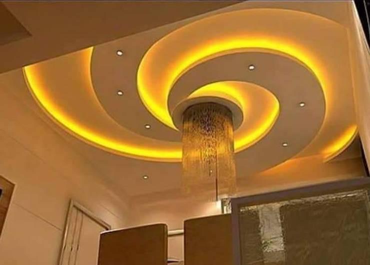 false ceiling:   by classicspaceinterior
