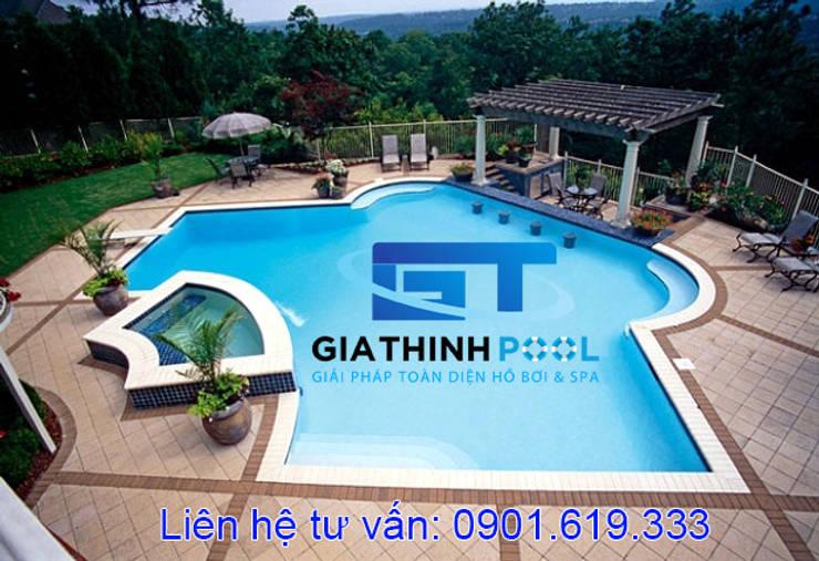 Tư vấn thiết kế hồ bơi gia đình:   by GIATHINHPOOL - HCM
