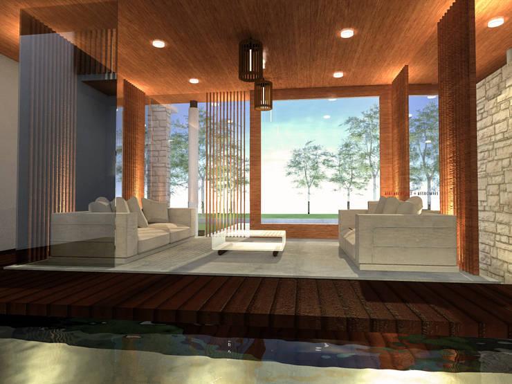 Inner House:  Teras by AIGI Architect + Associates