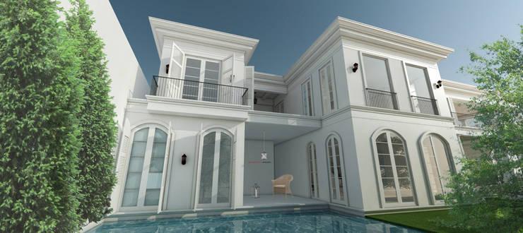 Light Classic:  Rumah tinggal  by AIGI Architect + Associates