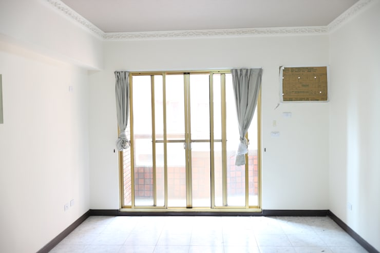 客廳:   by 致室內設計個人工作室