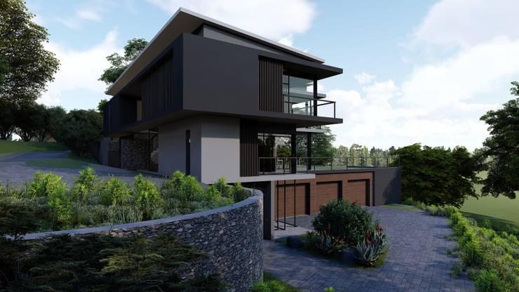 38 SAGILA:  Single family home by CA Architects, Modern
