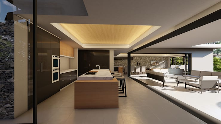 38 SAGILA:  Built-in kitchens by CA Architects