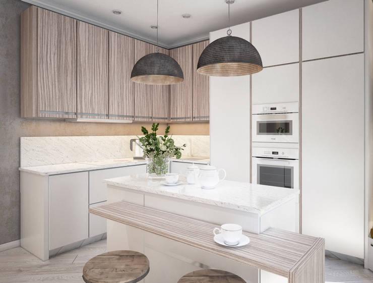 Современная кухня: Кухни в . Автор – Alt дизайн