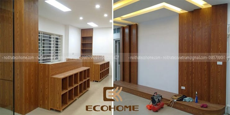 Công Ty TNHH Xây Dựng & Nội Thất ECO Việt Namが手掛けた