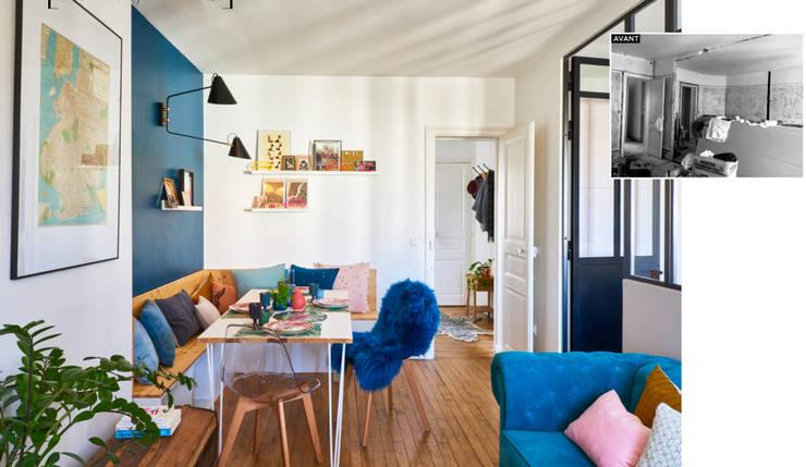 Renovation Appartement Levallois Perret:  de style  par Unlimited Design Lab