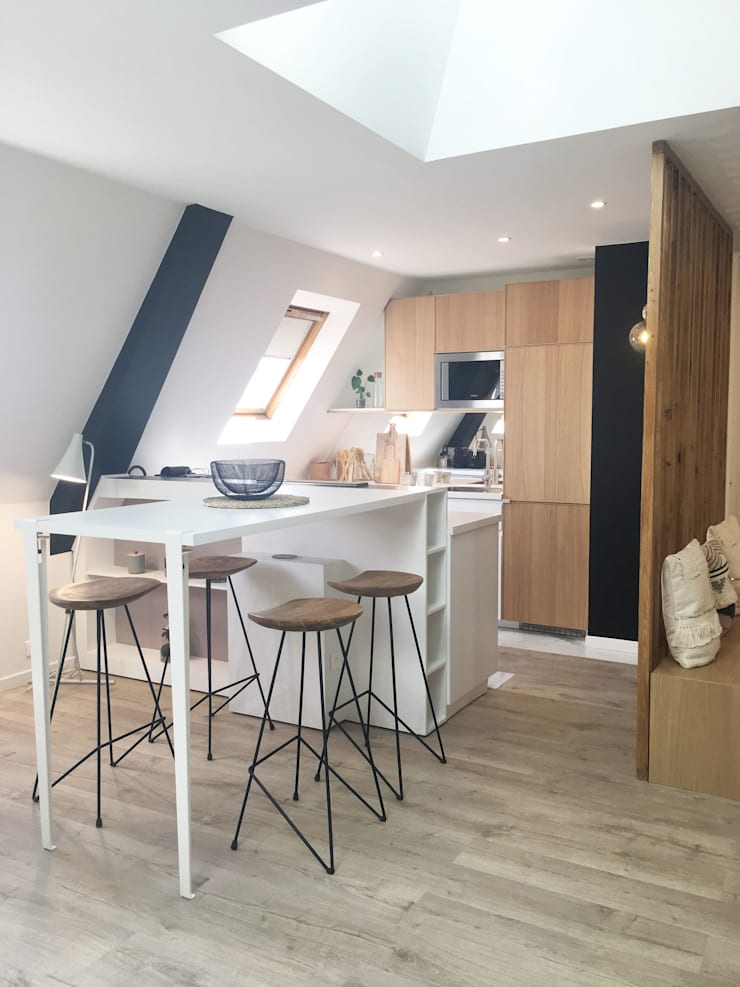 APPARTEMENT MESSINE PARIS 8:  de style  par Unlimited Design Lab