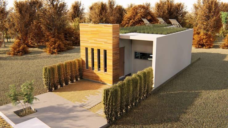 Casas ecológicas de estilo  por steel