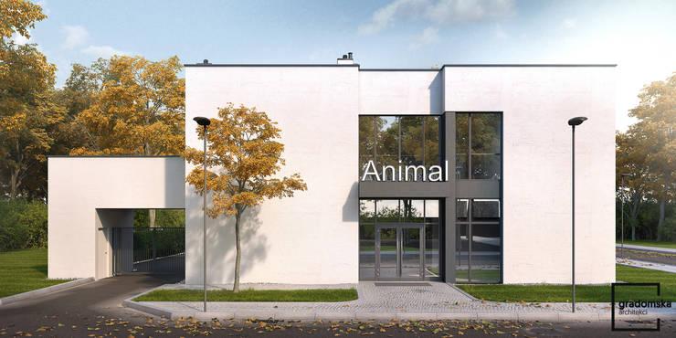 Lecznica Dla Zwierząt: styl , w kategorii  zaprojektowany przez gradomska architekci