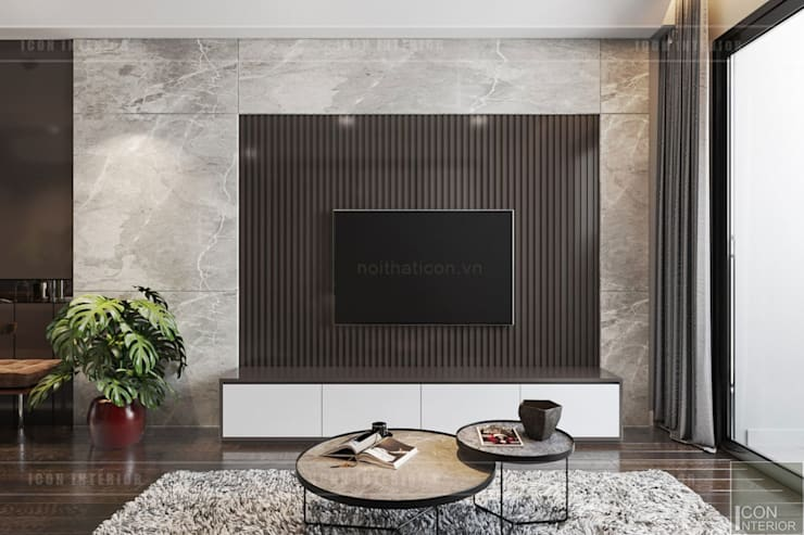 Living room by ICON INTERIOR,