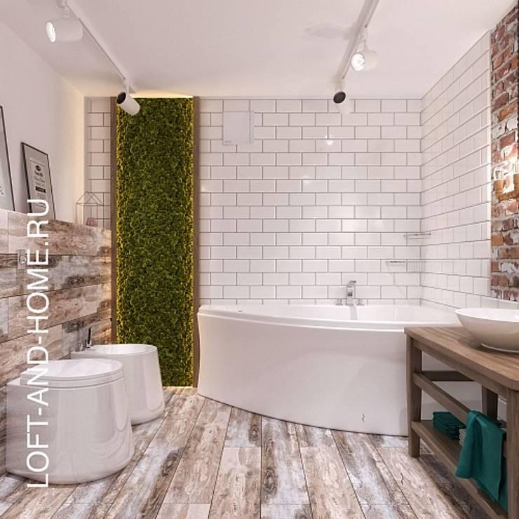 ЖК LOFT8, 123M2: Ванные комнаты в . Автор – Loft&Home
