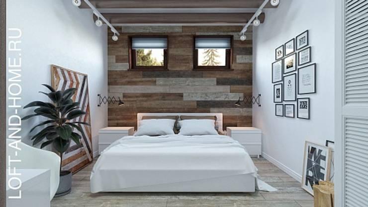 ЖК LOFT8, 123M2: Спальни в . Автор – Loft&Home