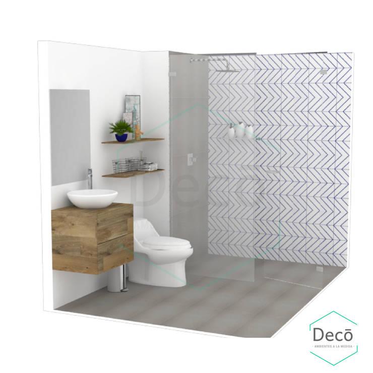 Bathroom by Decó ambientes a la medida