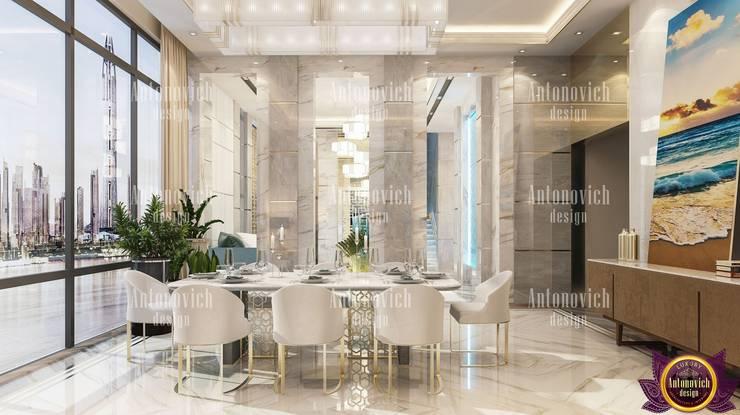 Fashion interior 2019 from Katrina Antonovich: modern Dining room by Luxury Antonovich Design