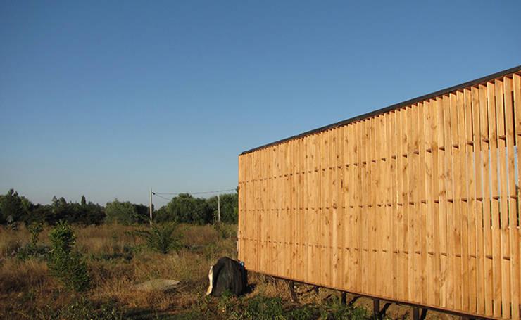 Quincho Las Cruces: Terrazas  de estilo  por mutarestudio Arquitectura