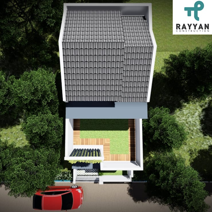 House Architecture:   by Eco-House Indonesia