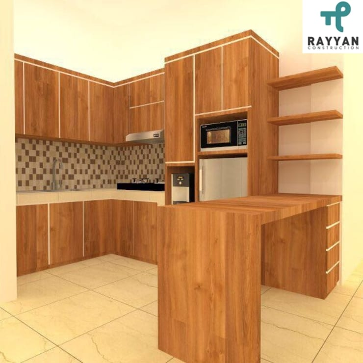 House Architecture:  Kitchen by Eco-House Indonesia