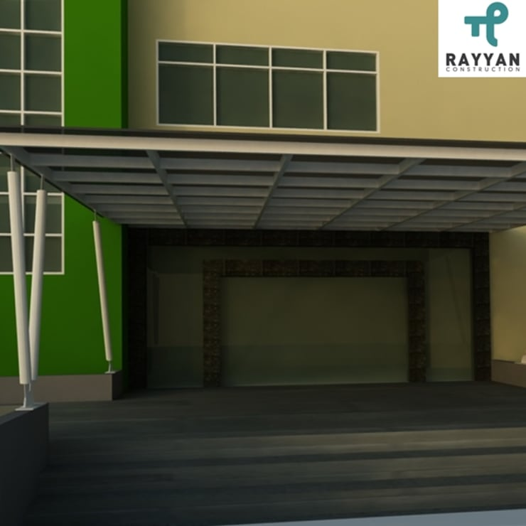 Office Exterior:  Atap by Eco-House Indonesia