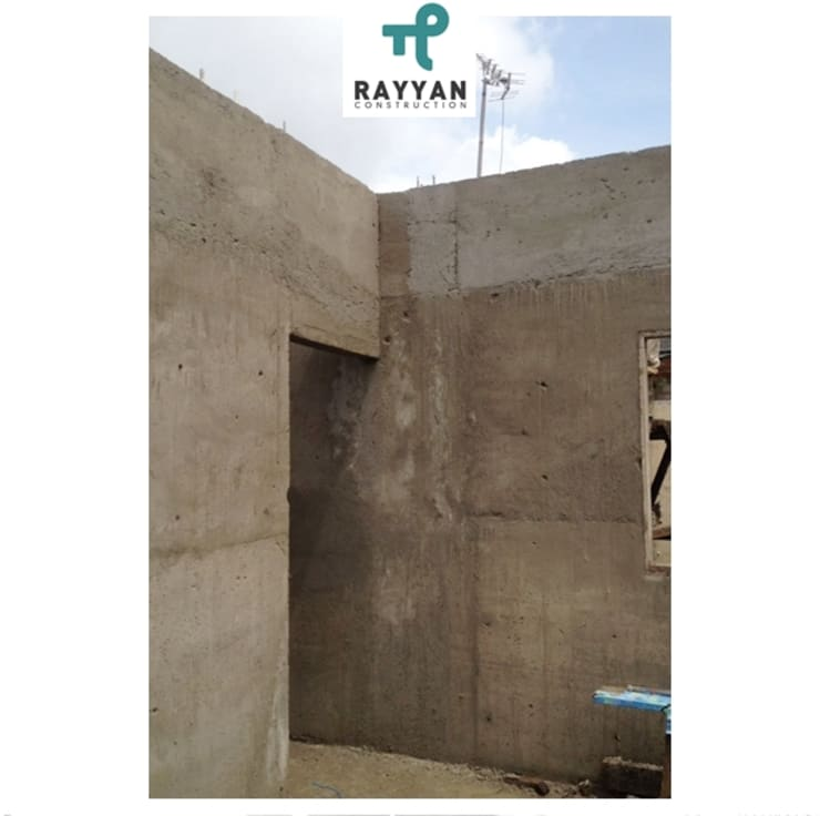 Design and Build Instant Concrete House:  Ruang Keluarga by Eco-House Indonesia