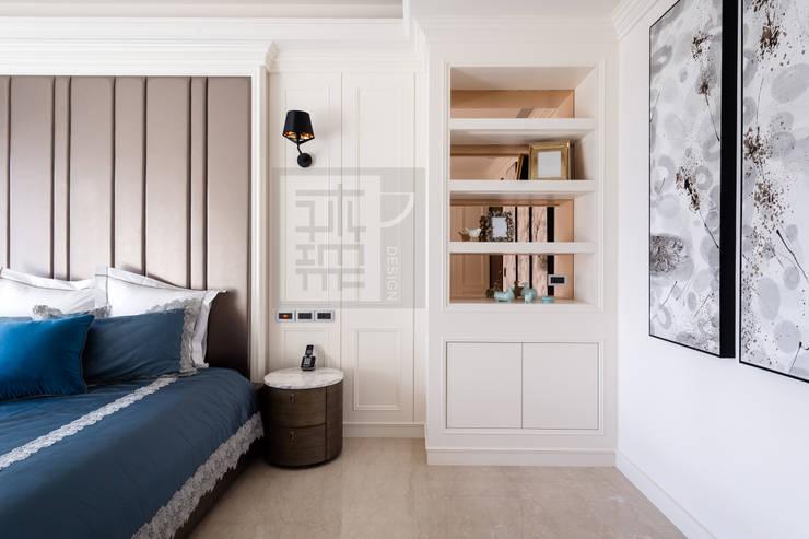 主臥一隅:  臥室 by 沐築空間設計