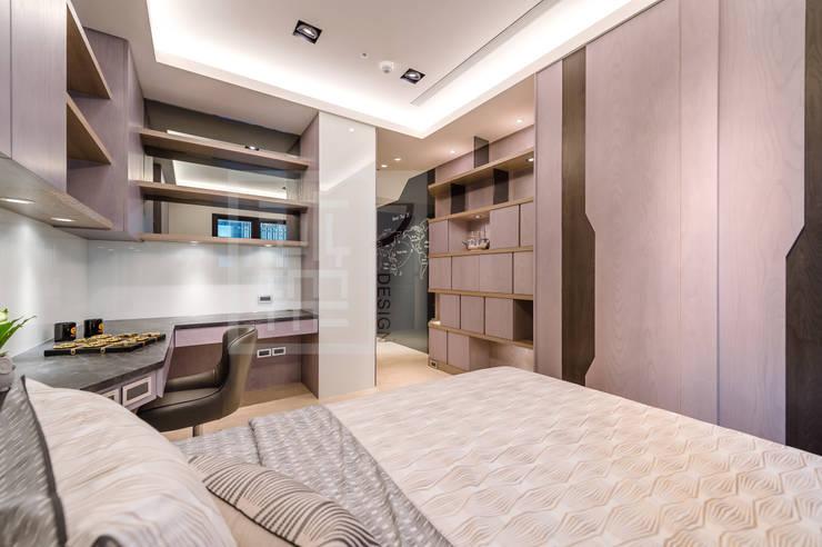 男孩房:  臥室 by 沐築空間設計